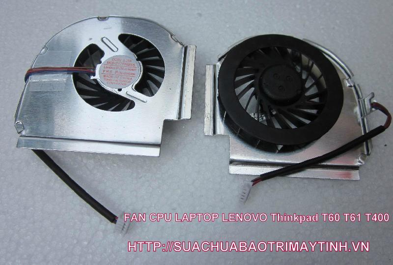FAN CPU IBM Thinkpad T60P T61P T61 T400 T60.JPG